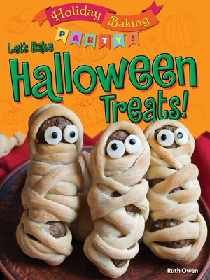 cover image of Let's Bake Halloween Treats!
