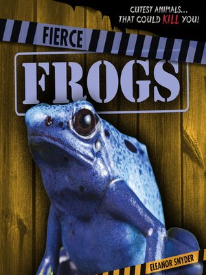 cover image of Fierce Frogs