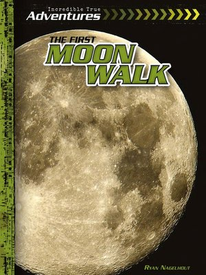 cover image of The First Moon Walk