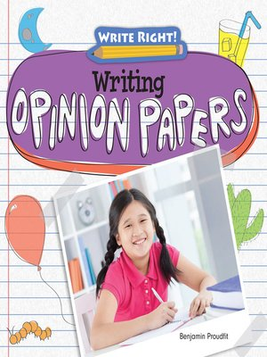 cover image of Writing Opinion Papers