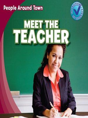 cover image of Meet the Teacher