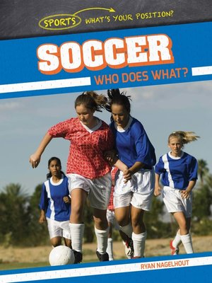 cover image of Soccer: Who Does What?