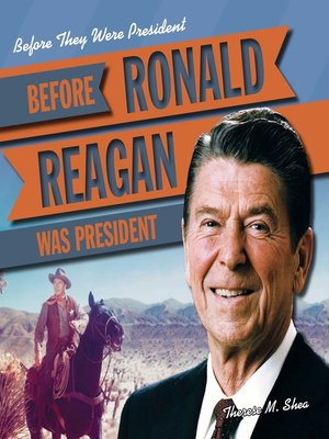 cover image of Before Ronald Reagan Was President