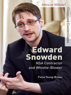 cover image of Edward Snowden