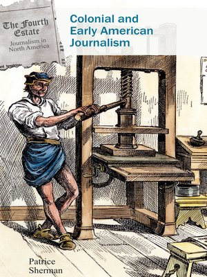 cover image of Colonial and Early American Journalism