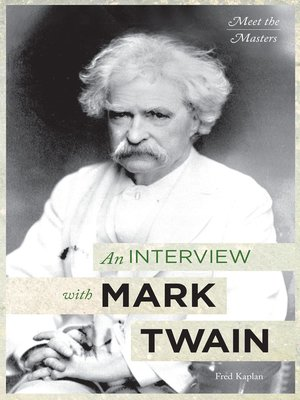 cover image of An Interview with Mark Twain