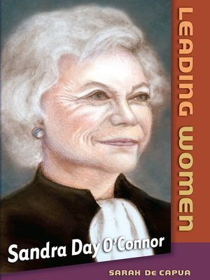 cover image of Sandra Day O'Connor