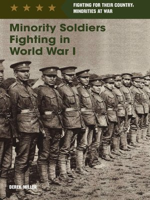 cover image of Minority Soldiers Fighting in World War I