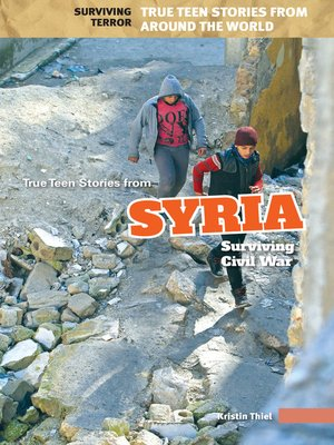 cover image of True Teen Stories from Syria