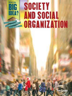 cover image of Society and Social Organization