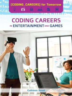cover image of Coding Careers in Entertainment and Games
