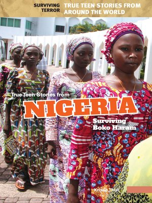 cover image of True Teen Stories from Nigeria
