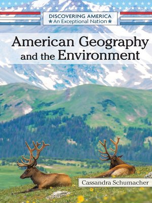 cover image of American Geography and the Environment