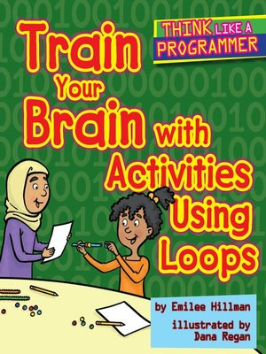 cover image of Train Your Brain with Activities Using Loops