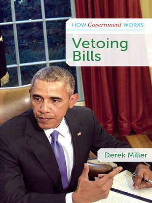 cover image of Vetoing Bills