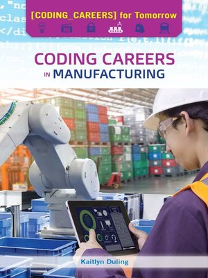 cover image of Coding Careers in Manufacturing