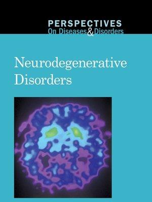 cover image of Neurodegenerative Disorders