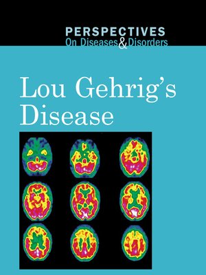 cover image of Lou Gehrig's Disease