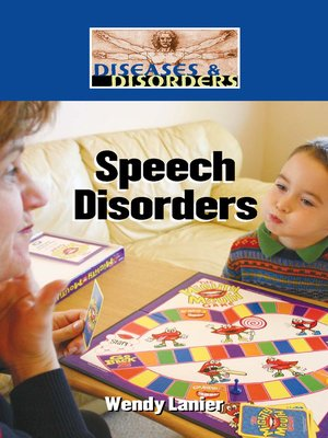 cover image of Speech Disorders