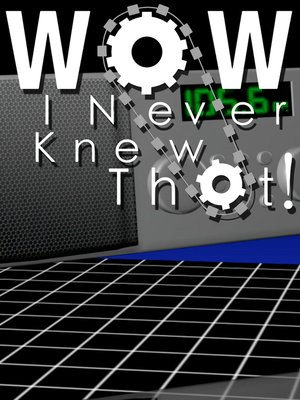 cover image of Wow, I Never Knew That!, Season 1, Episode 12
