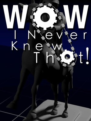 cover image of Wow, I Never Knew That!, Season 1, Episode 10