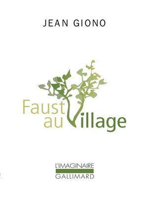 cover image of Faust au village