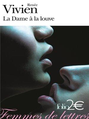 cover image of La Dame à la louve