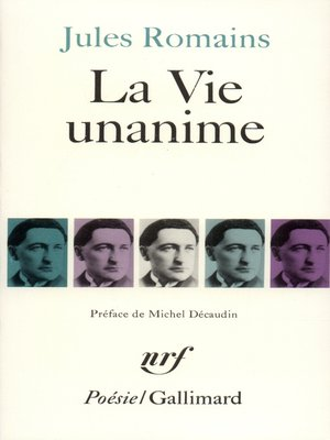 cover image of La Vie unanime