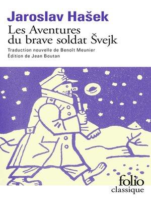 cover image of Les Aventures du brave soldat Svejk (Livre 1)--À l'arrière