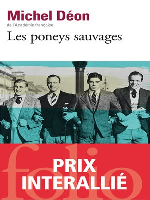 cover image of Les poneys sauvages