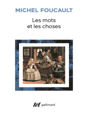 cover image of Les mots et les choses. Une archéologie des sciences humaines