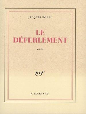 cover image of Le Déferlement