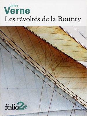 cover image of Les révoltés de la Bounty / Maître Zacharius