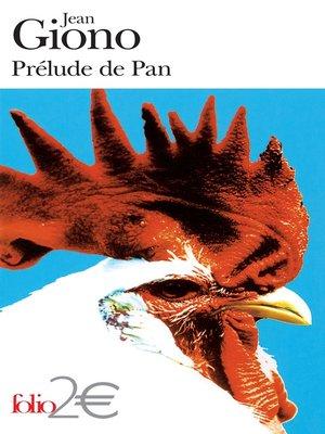 cover image of Prélude de Pan et autres nouvelles