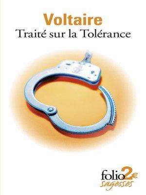 cover image of Traité sur la tolérance (édition enrichie)