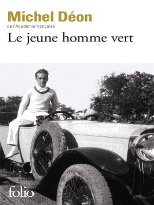 cover image of Le jeune homme vert
