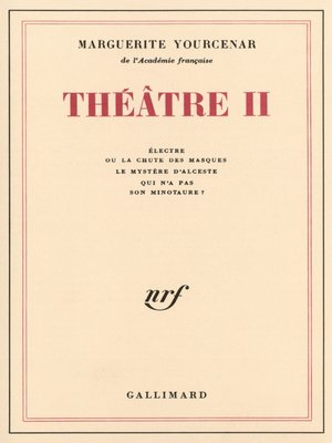 cover image of Théâtre (Tome 2)