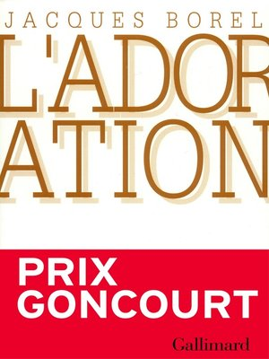 cover image of L'Adoration