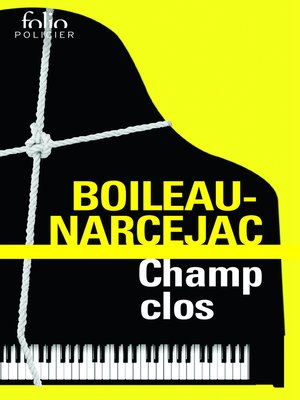 cover image of Champ clos