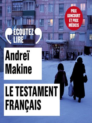 cover image of Le testament français
