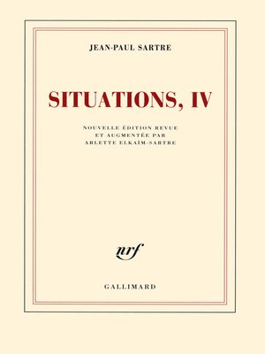 cover image of Situations (Tome 4)--Avril 1950--avril 1953