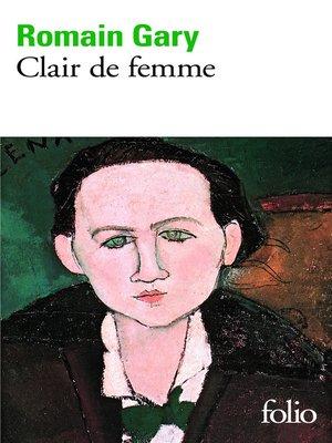 cover image of Clair de femme