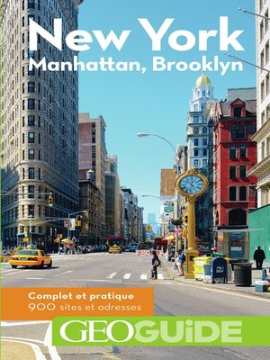 cover image of GEOguide New York. Manhattan, Brooklyn