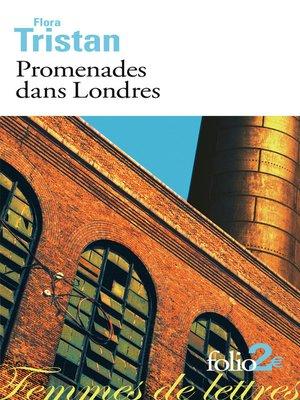 cover image of Promenades dans Londres