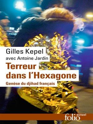 cover image of Terreur dans l'Hexagone. Genèse du djihad français