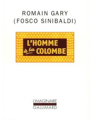 cover image of L'Homme à la colombe