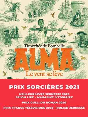 cover image of Alma, le vent se lève