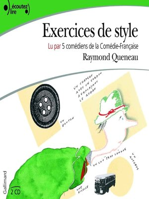 cover image of Exercices de style