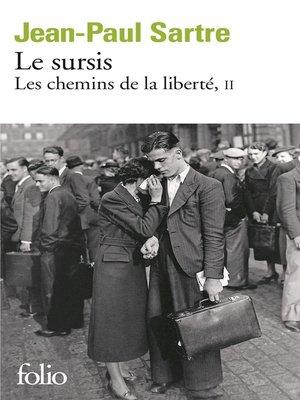cover image of Les chemins de la liberté (Tome 2)--Le sursis