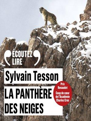 cover image of La panthère des neiges